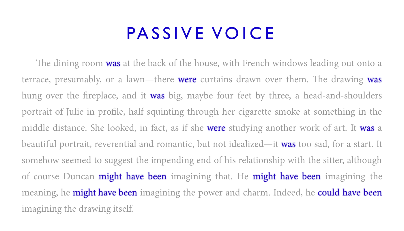 Passive Voice Highlighter